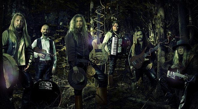 Korpiklaani выпустили новое lyric video.