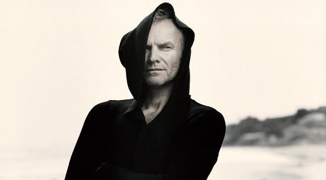 А Sting все думает, о чем и поет в новой песне.