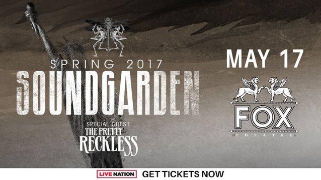 soundgarden последний концерт 17 мая 2017 года в Детройте