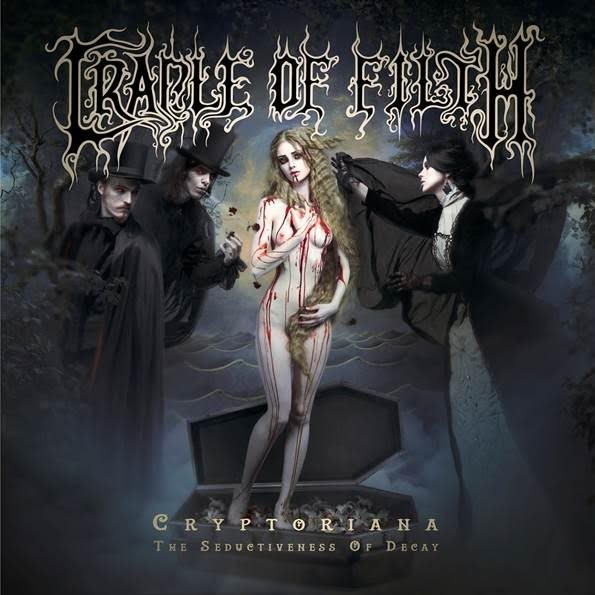 cradle of filth - Cryptoriana - The Seductiveness Of Decay 2017