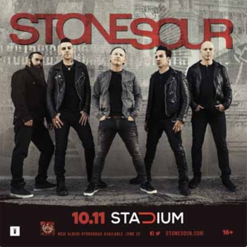 Stone Sour live Moscow 2017
