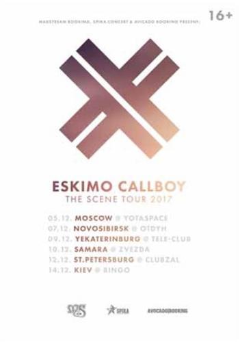 Eskimo Callboy live Moscow 2017